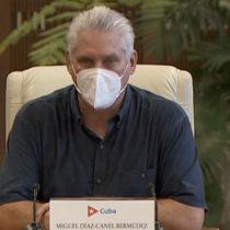 Díaz-Canel acusa a EE.UU. de querer provocar «estallidos sociales» en Cuba