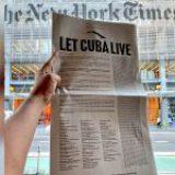 Más de 400 artistas, intelectuales y activistas piden a Biden que 'deje vivir a Cuba' y ponga fin al bloqueo