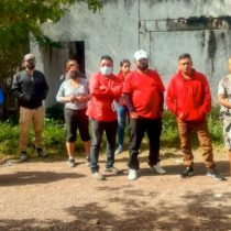 Bloquean Servidores de la Nación entrega de fertilizante en Chilapa