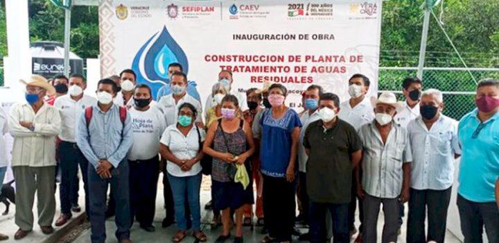 Veracruzanos gestionan planta de tratamiento de aguas en Tlapacoya, Veracruz