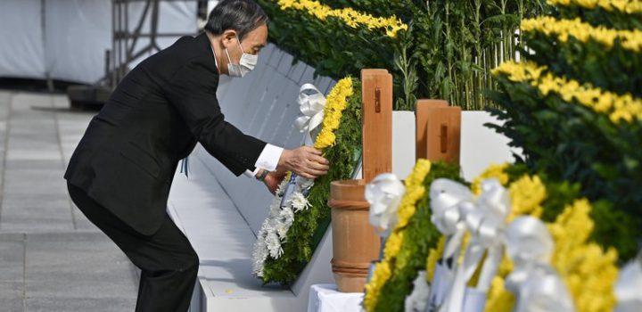 Hiroshima conmemora 76 años de la bomba atómica y reclama al COI minuto de silencio