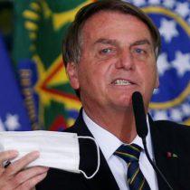 Jair Bolsonaro busca frenar uso del cubrebocas en Brasil