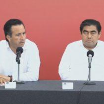 Gobiernos de Puebla y Veracruz rebasados por huracán 'Grace'