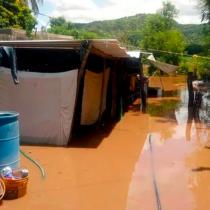 Decenas de familias indígenas damnificadas por inundaciones en Sonora
