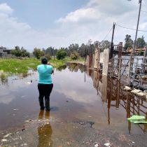 Más de 200 familias damnificadas por inundación de aguas negras en Tláhuac protestarán mañana concadena humana