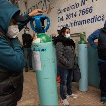 Aumenta la demanda de oxígeno en CDMX por tercera ola de Covid