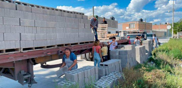 """Programa """"Apoyo a la vivienda"""" en San Luis Potosí, beneficia a cientos de familias"""