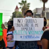 Estudiantes realizarán cadena humana denunciando regreso a escuelas en medio de tercera ola