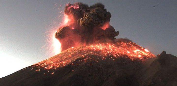 Popocatépetl registra 95 exhalaciones y 5 explosiones en las últimas 24 horas