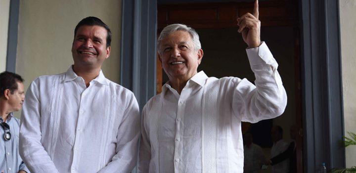 AMLO también ofrece cargo a Antonio Echevarría, Gobernador de Nayarit