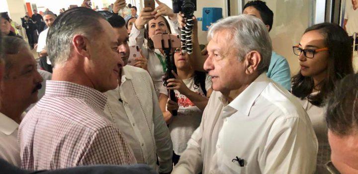 AMLO invita a gobernadores panistas y priistas a sumarse al Gobierno Federal