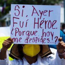 Despido de trabajadores de la Salud en Oaxaca, golpe de AMLO y Murat