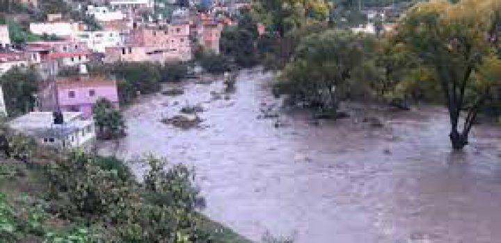 Por lluvias, revienta presa San Aparicio y causa inundaciones en comunidades de Zacatecas