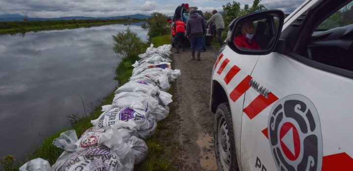Conagua alerta riesgo de desborde del río Lerma en el Edomex