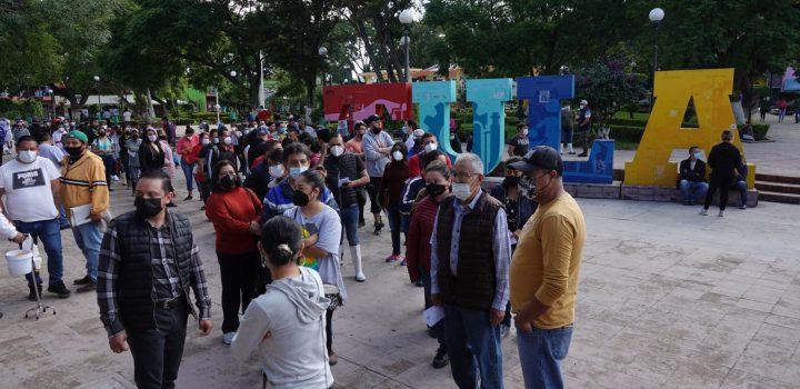 Damnificados de Tula recibirán 1, 200 pesos por afectaciones; Tlalnepantla entrega 5 mil