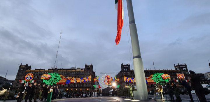 Izan bandera a media asta en homenaje a las víctimas de los sismos de 1985 y 2017