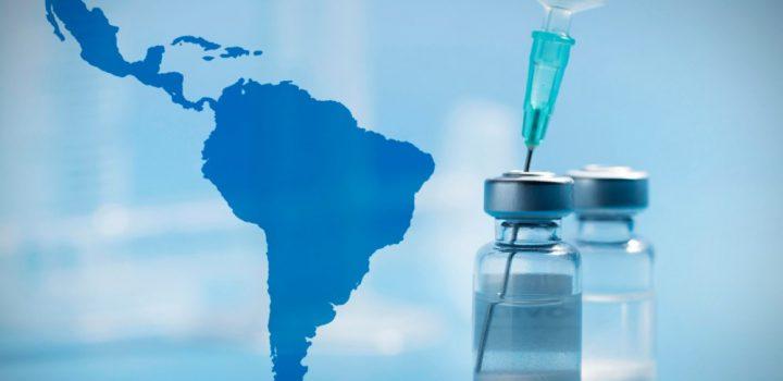 Sólo el 35% de la población en Latinoamérica tiene esquema completo de vacunación
