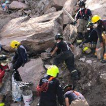 Reducen equipos de búsqueda en el cerro del Chiquihuite ante riesgo de nuevos desprendimientos