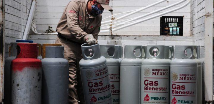 Precios de Gas Bienestar suben 11% en un mes