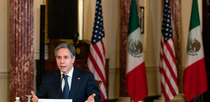 """Antony Blinken, secretario de Estado de EE. UU. viajará a México para """"dialogar sobre seguridad"""""""