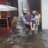 Lluvias provocan inundaciones y deslaves en al menos 4 municipios de Veracruz