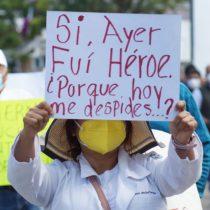 Despidos de personal médico en Oaxaca, otra infamia marca 4T