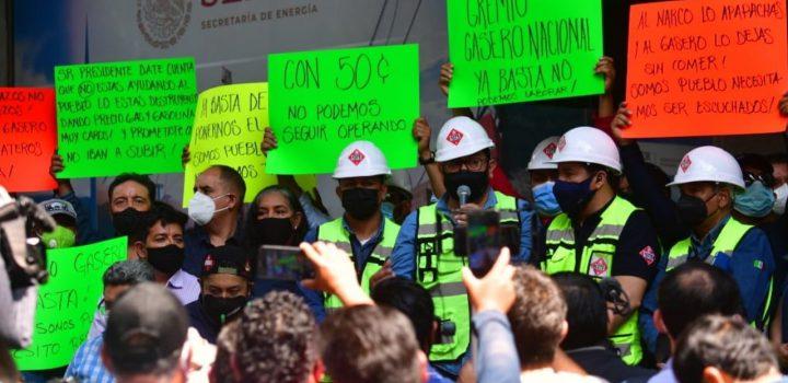 Gas Bienestar causa violencia de policía de CDMX contra gaseros